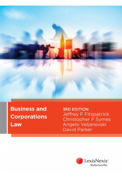 COMMLAW7012 - Business and Corporations Law Textbooks