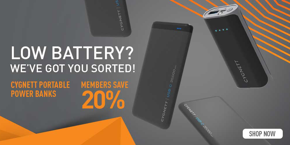 Cygnett Power Banks