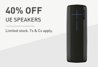 Save on UE Speakers