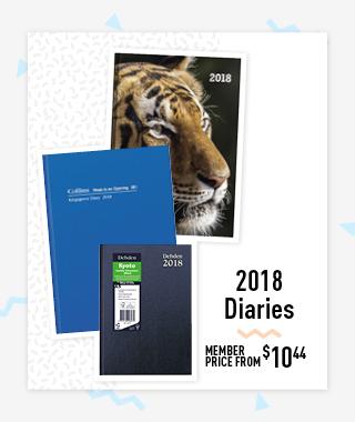 Shop 2018 Diaries